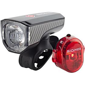 SIGMA SPORT Aura 40 Beleuchtungsset USB/Nugget II